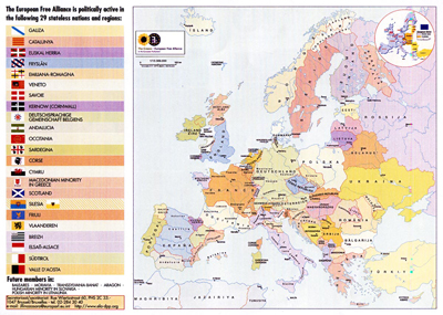 Macro regioni europee a base etnica