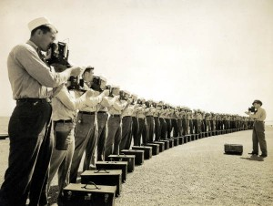 """Naval Photography School instructor and students at NAS Pensacola"" by Joseph Janney Steinmetz Collection on Flickr (CC)"