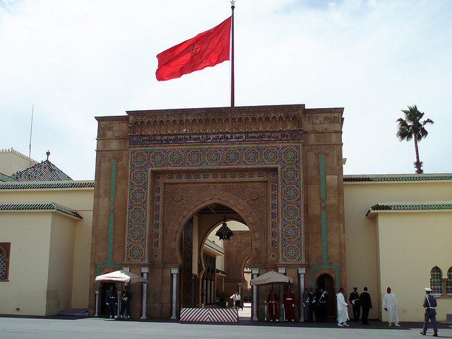 """Morocco, April 2008: Rabat kings palace"" by David Holt on Flickr (CC BY-SA 2.0)"