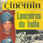 Copertina della rivista «Cinemin», n. 74, novembre 1952 (© L'immagine appartiene ai rispettivi proprietari / Property of its respective owners)