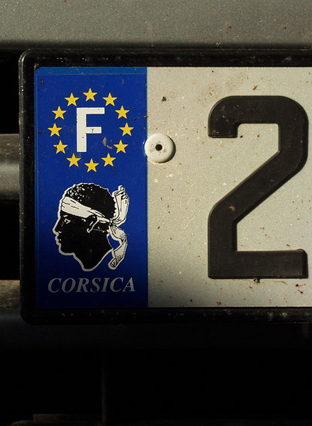 """Corsican number plate"" by rogiro on Flickr (CC BY-NC-ND 2.0)"