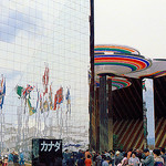 """Ontario Pavilion. April 1970, Osaka Expo '70"" by takato marui on Flickr (CC BY-SA 2.0)"