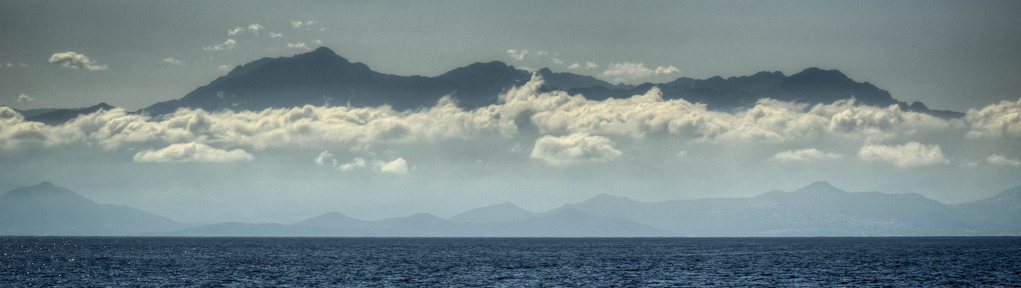 """Corsica fron the Sea "" by Ophelia photos on Flickr (CC BY-NC-ND 2.0)"