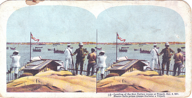 """Italo-Turkish War stereograph, 18 of 24"" by John Kroll on Flickr (CC BY-NC 2.0)"