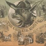 Paura verso l'immigrazione cinese nella cultura popolare statunitense. Fonte: The San Francisco Illustrated Wasp (1878)