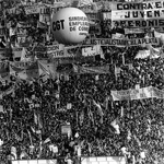 """Movilización contra la dictadura de militar el 30 de marzo de 1982"" by Mr. Moonlight on Wikimedia Commons (Public domain)"