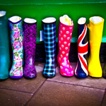 """Colorful boots"" by Chris Goldberg on Flickr (CC BY-NC 2.0)"