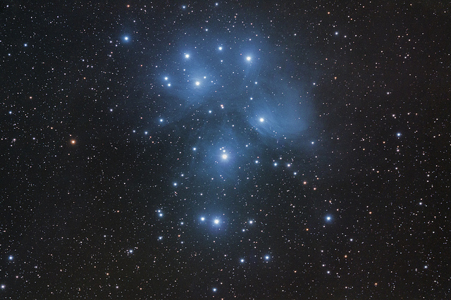 """M45 – Le Pleiadi"" by gianni on Flickr (CC BY 2.0)"
