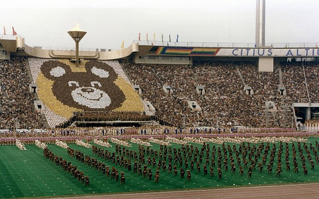 """1980, Opening Ceremony in Moscow"" by paukrus on Flickr (CC BY-SA 2.0)"