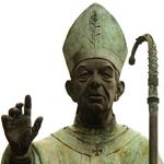 """""""Estatua al Cardenal Tarancón en Villarreal (Castellón, España)"""" by Montgomery via Wikimedia Commons (CC BY-SA 3.0)"""