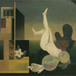"Harue Koga (1895-1933), ""Harsh Heritage"", 1931. Olio su tela, 111,2×144 cm. Kurume, Ishibashi Museum of Art (attraverso Wikimedia Commons [Public domain])"