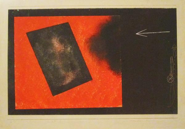 """Paul Klee (1879-1940), """"Neues Spiel beginnt"""", 1930. Acquerello e collage di carta su fondo di colla montata su cartoncino, 32,6×46,7 cm. Berlino, Sammlung Scharf-Gerstenberg - Staatliche Museen zu Berlin (attraverso Wikimedia Commons [Public domain])"""