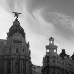 """""""Alcalá - Gran Vía"""" by rafa_luque on Flickr (CC BY 2.0)"""