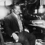 Lo scrittore giamaicano Marcus Garvey