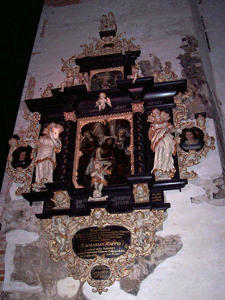 """""""Gdańsk, Kościół św. Jana, epitafium Adelgundy Zappio, 1664"""" by Pomuchelskopp via Wikimedia Commons (CC BY-SA 3.0)"""