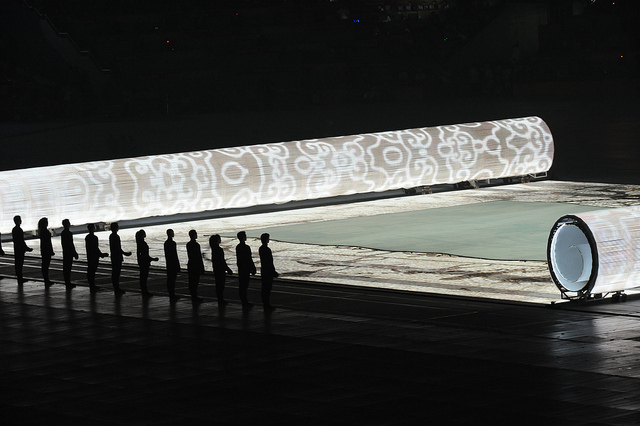 """2008 Summer Olympics - Opening Ceremony - Beijing, China"" by U.S. Army on Flickr (CC BY 2.0)"