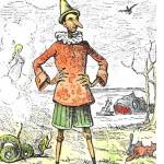 """Pinocchio. Illustrazione di Enrico Mazzanti (1850-1910)"""" via Wikimedia Commons (CC BY-SA 3.0)"""