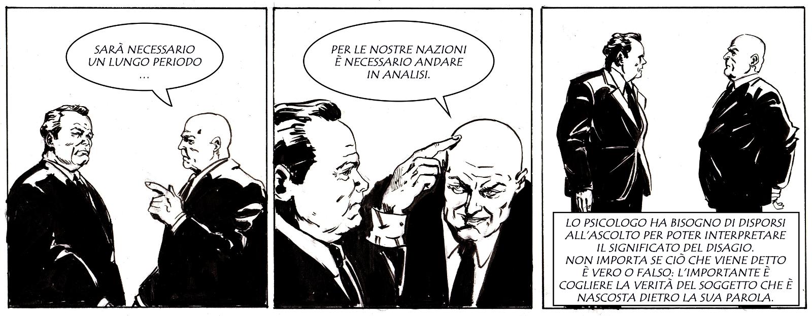 Willy Brandt, Josef Cyrankiewicz e la 'psicanalisi fra nazioni'.