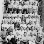 """""""La scalinata dove fu scattata la foto di gruppo degli ebrei stranieri internati al Campo di Concentramento di Casoli"""" by campocasoli.org on Flickr (©)"""