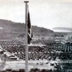 """Veduta del campo di concentramento di Rab (1942)"" by Mučeniška pot k svobodi, Ljubljana, 1946 on Flickr (CC BY-SA 3.0)"