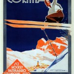 """Franz Lenhart. Cortina, the paradise of ice, snow and sun. 1930"" by kitchener.lord on Flickr (CC BY-NC-ND 2.0)"
