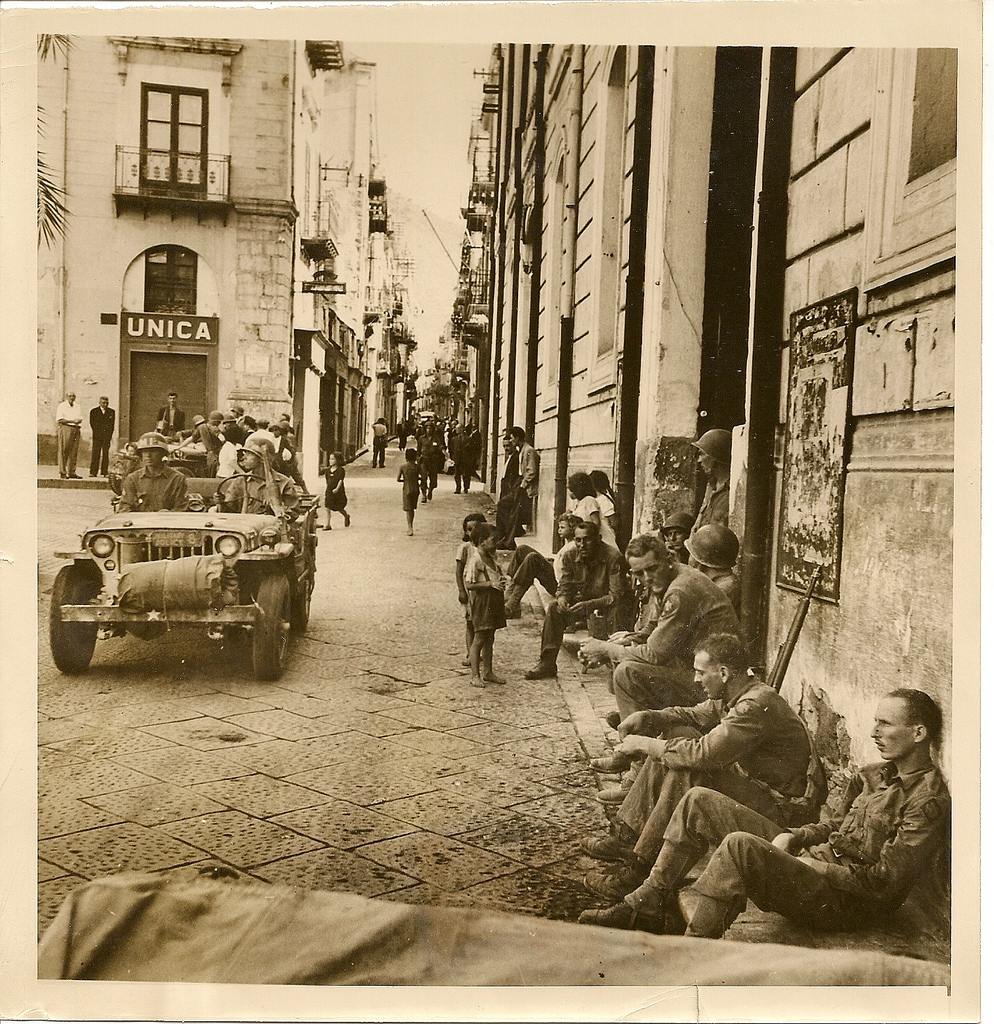 """Allied Soldiers Rest, Cefalu, (Sicily) Italy"" by England on Flickr (CC)"