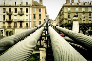 """Pont Saint Laurent"", Grenoble, 2009, by Di JuanChristophe/Jean-Christophe on Flickr (CC-BY-NC-SA)"