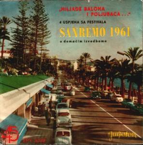 """""""ALTIĆ EMIR - Hiljade balona i poljubaca... Pjesme sa festivala Sanremo 1961"""""""
