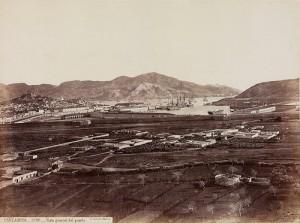 """""""Cartagena. Vista general del puerto"""", by Biblioteca Nacional de España on flickr (CC-BY-NC-ND)"""