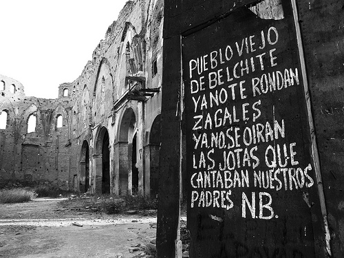 """Pueblo viejo de Belchite"" by pocketmonster on Flickr"