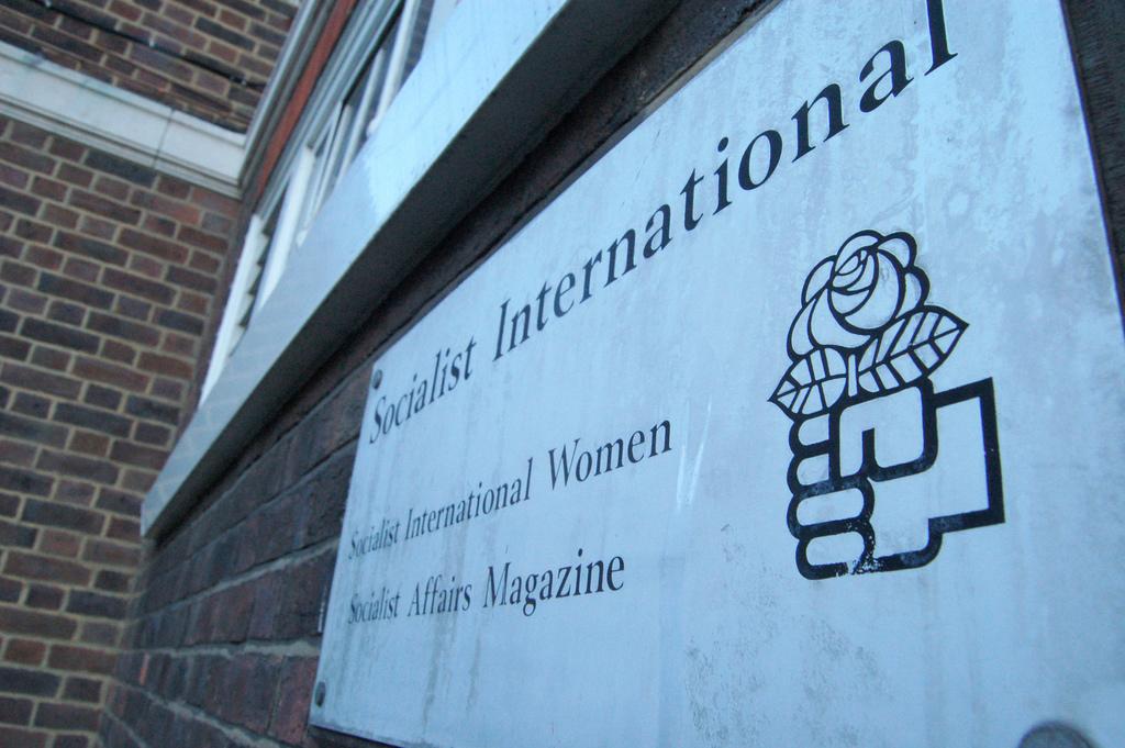 """Socialist International"" by tgraham on Flickr (CC BY-SA 2.0)"