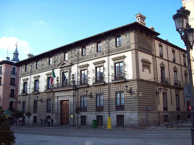 """""""Palacio de Abrantes (Madrid)"""" by Luis García attraverso Wikimedia Commons [Public domain] (CC BY-SA 3.0)"""
