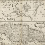 """""""A generall mapp of the continent and islands which bee adjacent to Jamaica ; A new mapp of the Island of Jamaica"""" by Norman B. Leventhal Map Center at the BPL on Flickr (CC BY 2.0)"""