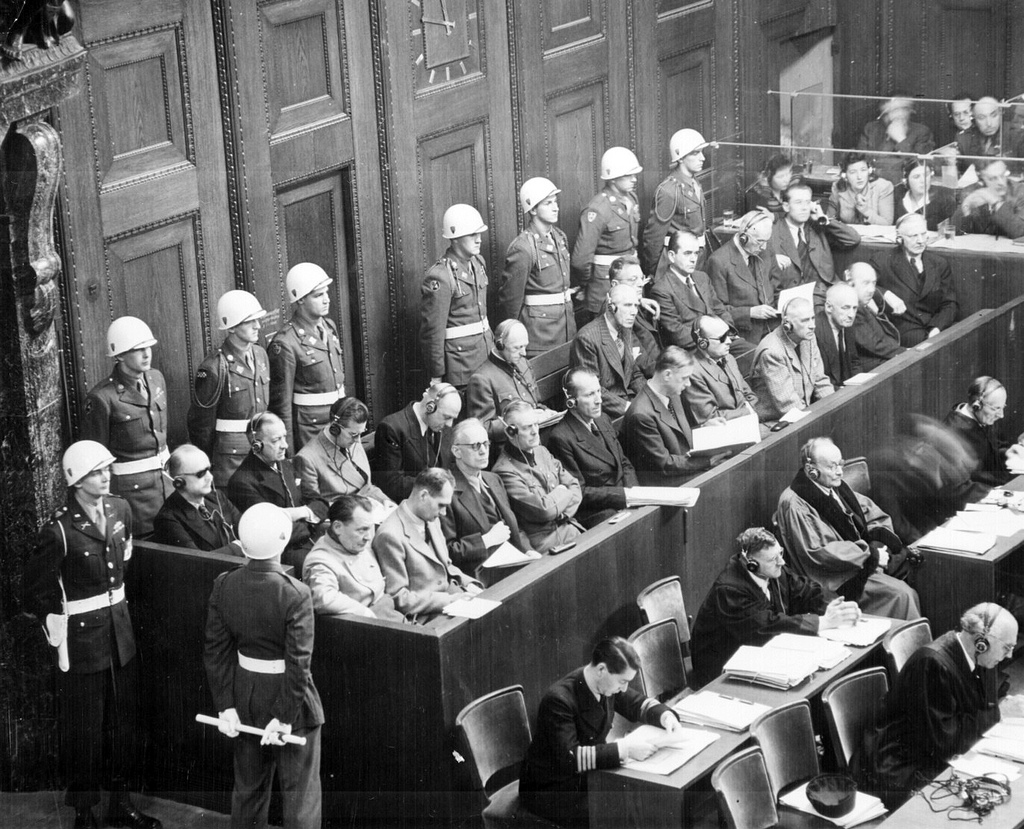 """""""Nuremberg Trials"""" by Marion Doss on Flickr (CC BY-SA 2.0)"""