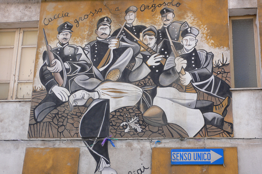 """""""Murales in Orgosolo"""" by Heather Cowper on Flickr (CC BY 2.0)"""