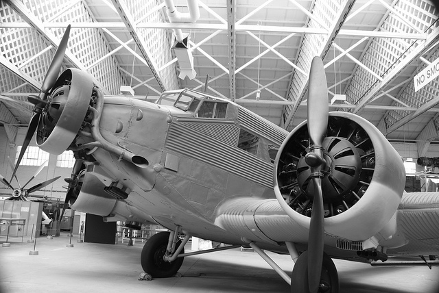 """Junkers Ju-52 'Tante Ju-Auntie Ju - and Iron Annie'"" by Alex Drennan on Flickr (CC BY-NC-ND 2.0)"