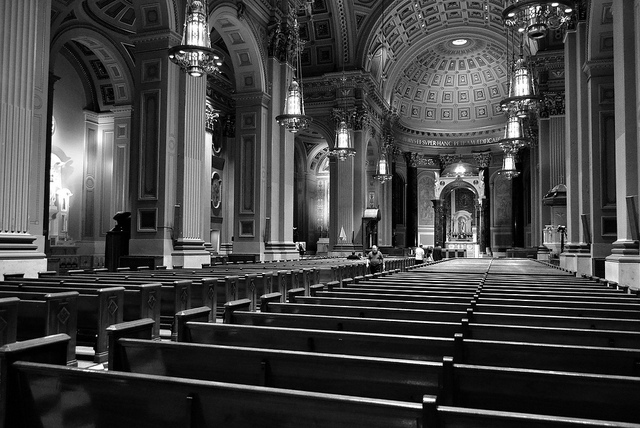 """Basilica of Saints Peter & Paul"" by jpellgen on Flickr (CC BY-NC-ND 2.0)"