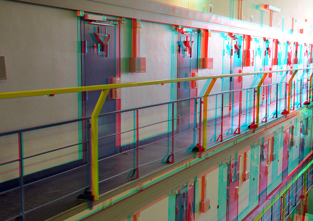 """Prison Rotterdam 3D"" by wim hoppenbrouwers on Flickr (CC BY-NC-ND 2.0)"