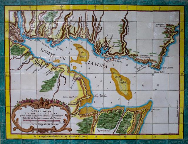 """""""Carte de La Riviere de La Plata"""" by c.alberto on Flickr (CC BY-NC-SA 2.0)"""
