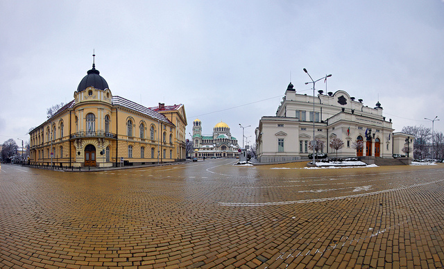 """""""Central Sofia in wide angle"""" by Mariusz Kluzniak on Flickr (CC BY-NC-ND 2.0)"""