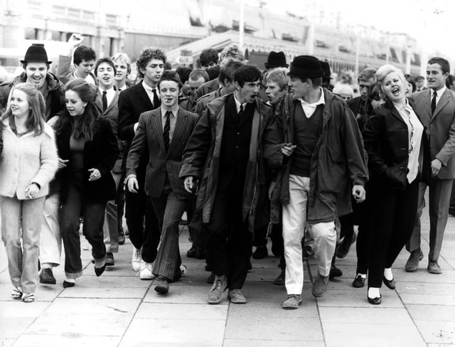 """Youth Culture - Mods & Rockers 1960s - 1970s"" by Paul Townsend on Flickr (CC BY-NC 2.0)"