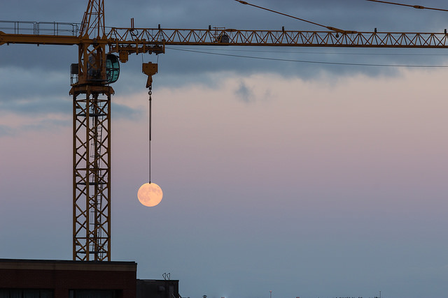 """Halifax Cranes Working Overtime"" by Glenn Euloth on Flickr (CC BY-NC-ND 2.0)"
