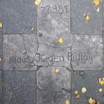 """Gedenktafel vor dem Haus Potsdamer Straße 127, in Berlin-Schöneberg"" by OFTW, Berlin via Wikimedia Commons (CC BY-SA 3.0)"