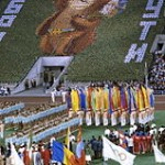 """Flag-bearers of states-participants of the XXII Summer Olympic Games"" by Sergey Guneev via Wikimedia Commons (CC BY-SA 3.0)"