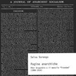 """Selva Varengo, """"Pagine anarchiche. Pëtr Kropotkin e il mensile """"Freedom"""" (1886-1914)"""", Milano, Biblion, 2015"""