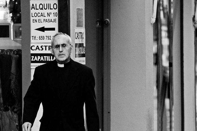 """""""The priest"""" by Ignacio García on Flickr (CC BY-SA 2.0)"""