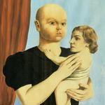 """René Magritte (1898-1967), """"L'esprit de géométrie"""", 1936. Guazzo su carta, 37,5×29,2 cm. Londra, Tate (by Cea+ on Flickr [CC BY 2.0])"""