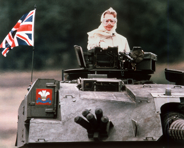"""THATCHER TANK"" by Think Defence on Flickr (CC BY-NC 2.0)"
