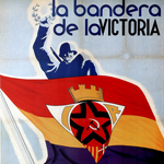 """""""Magam, The flag of victory (Republican Left) 1937"""" by kitchener.lord on Flickr (CC BY-NC-ND 2.0)"""