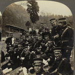 """""""A noon lunch of rice and tea - Japanese Army on the way to the front"""" by Boston Public Library on Flickr (CC BY 2.0)"""